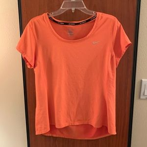Women's Nike dri-fit peach shirt xl